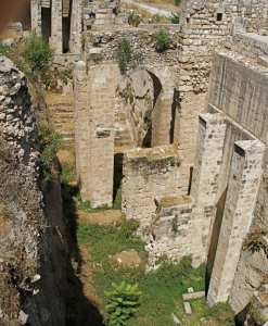 The remains of the pools of Bethesda