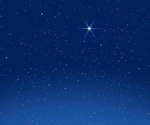 Every star will sing a carol